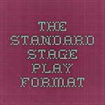 stage play format