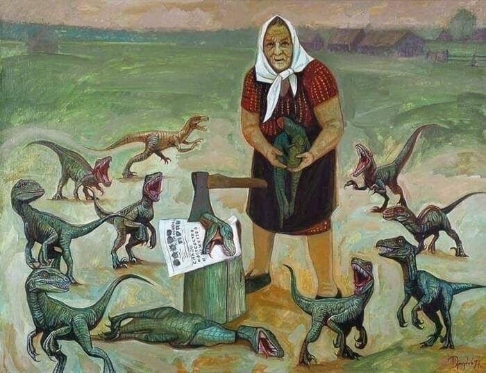 """Ілья Драздов """"Баба Діна"""""""